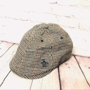 ORIGINAL PENGUIN MENS NEWSBOY WOOL DRIVER CAP HAT
